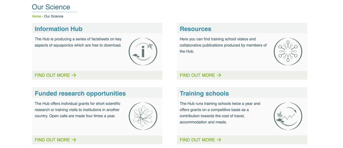 info hub page